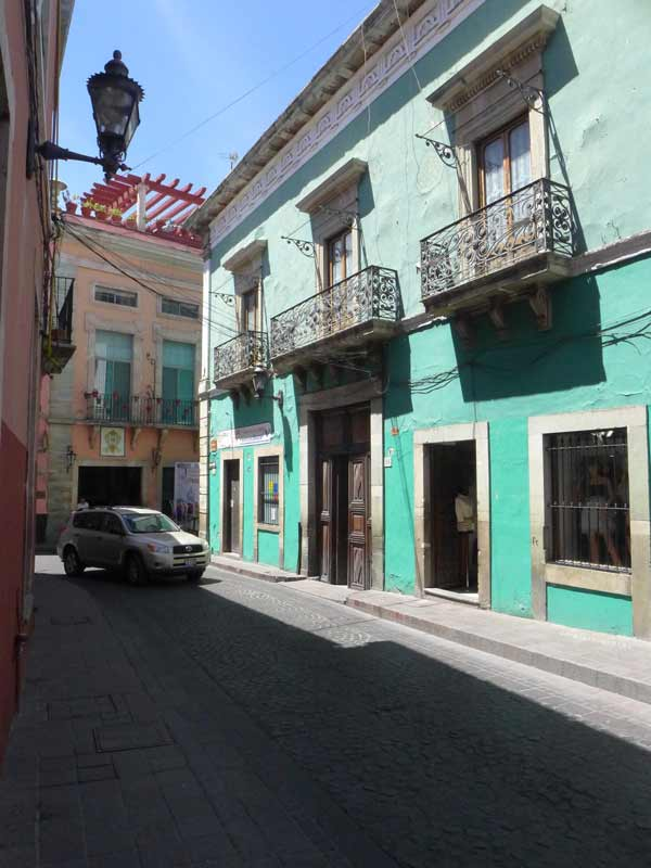 Mexico-green-pink-building